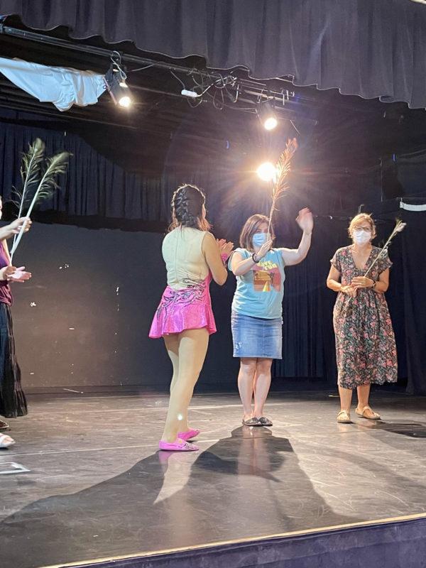 Spectacle cirque et magie à l'association Hevea (Jouy le Moutier)