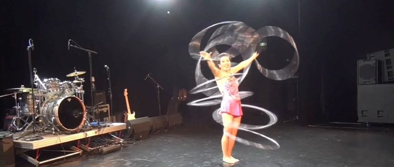 Hula Hoops à la MTD et à l'Espace Lumière (Epinay sur Seine)